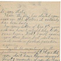 Image of 152_2015.162.4_reid Fields To Clara Wrasse_january 10, 1919_page 02