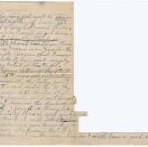 Image of 152_2015.162.4_reid Fields To Clara Wrasse_january 10, 1919_page 03