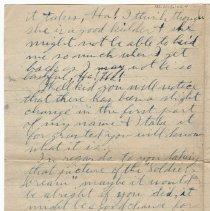 Image of 152_2015.162.4_reid Fields To Clara Wrasse_january 10, 1919_page 04