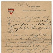 Image of 152_2015.162.4_reid Fields To Clara Wrasse_january 10, 1919_page 05