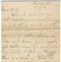 Image of 154_2015.162.4_clara Wrasse To Reid Fields_january 10, 1919_page 01