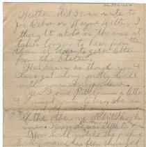 Image of 156_2015.162.4_reid Fields To Parents_january 15, 1919_page 04