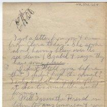 Image of 158_2015.162.4_reid Fields To Parents_january 20, 1919_page 04
