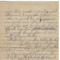 Image of 159_2015.162.4_reid Fields To Clara Wrasse_january 21, 1919_page 02