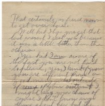 Image of 159_2015.162.4_reid Fields To Clara Wrasse_january 21, 1919_page 03