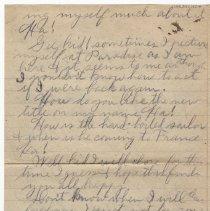 Image of 159_2015.162.4_reid Fields To Clara Wrasse_january 21, 1919_page 04
