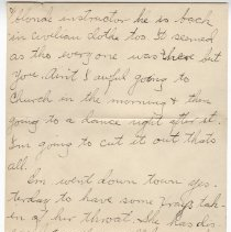 Image of 160_2015.162.4_clara Wrasse To Reid Fields_january 21, 1919_page 02