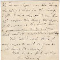 Image of 160_2015.162.4_clara Wrasse To Reid Fields_january 21, 1919_page 05