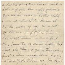 Image of 161_2015.162.4_clara Wrasse To Reid Fields_january 27, 1919_page 05
