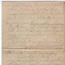 Image of 162_2015.162.4_reid Fields To Clara Wrasse_january 28, 1919_page 04