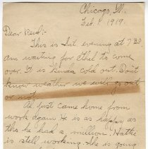 Image of 164_2015.162.4_clara Wrasse To Reid Fields_february 1, 1919_page 01
