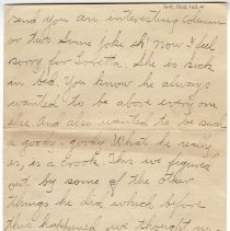 Image of 164_2015.162.4_clara Wrasse To Reid Fields_february 1, 1919_page 02