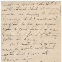 Image of 165_2015.162.4_clara Wrasse To Reid Fields_february 4, 1919_page 06