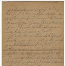 Image of 166_2015.162.4_reid Fields To Parents_february 5, 1919_page 02