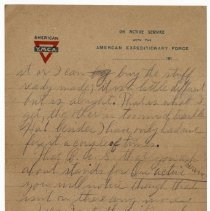 Image of 166_2015.162.4_reid Fields To Parents_february 5, 1919_page 03