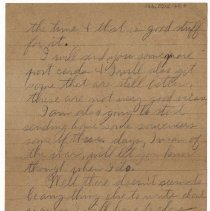 Image of 166_2015.162.4_reid Fields To Parents_february 5, 1919_page 04