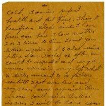 Image of 1977.13.41_robert Chilson To Sister_november 22, 1918_page 02