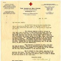 Image of 1977.13.63_w.r. Castle Jr. (american Red Cross) To Lottie Hewitt_january 13