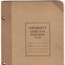 Image of 2004.100.30 - Notebook