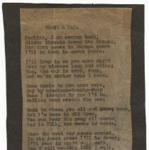 Image of Poem: Peace & War