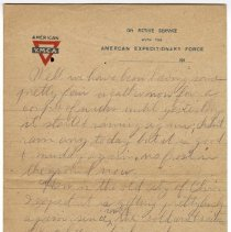 Image of 167_2015.162.4_reid Fields To Clara Wrasse_february 6, 1919_page 03
