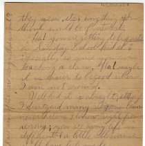 Image of 167_2015.162.4_reid Fields To Clara Wrasse_february 6, 1919_page 04