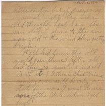 Image of 170_2015.162.4_reid Fields To Clara Wrasse_february 12, 1919_page 02