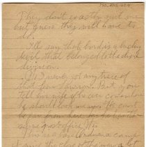 Image of 170_2015.162.4_reid Fields To Clara Wrasse_february 12, 1919_page 04