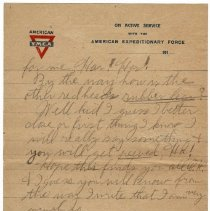 Image of 170_2015.162.4_reid Fields To Clara Wrasse_february 12, 1919_page 05