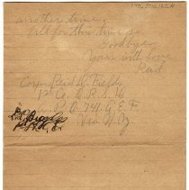 Image of 170_2015.162.4_reid Fields To Clara Wrasse_february 12, 1919_page 06