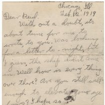 Image of 171_2015.162.4_clara Wrasse To Reid Fields_february 12, 1919_page 01