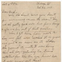 Image of 175_2015.162.4_clara Wrasse To Reid Fields_february 22, 1919_page 01