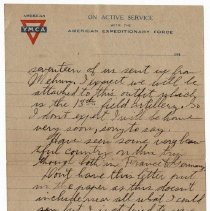 Image of 177_2015.162.4_reid Fields To Parents_february 27, 1919_page 03