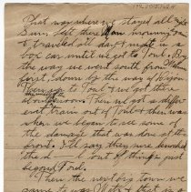 Image of 179_2015.162.4_reid Fields To Clara Wrasse_march 1, 1919_page 02