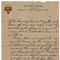 Image of 179_2015.162.4_reid Fields To Clara Wrasse_march 1, 1919_page 03