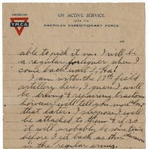 Image of 179_2015.162.4_reid Fields To Clara Wrasse_march 1, 1919_page 05