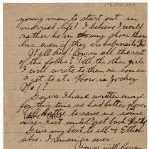 Image of 179_2015.162.4_reid Fields To Clara Wrasse_march 1, 1919_page 06