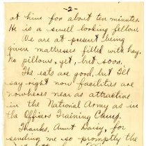 Image of 003_1982.202.1_charles Stevenson To Family_september 8, 1917_page 04