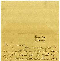 Image of 049_1982.202.1_charles Stevenson To C.a. Stevenson (grandmother)_date Unkno