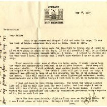Image of 067_1982.202.1_charles Stevenson To Family_may 14, 1918_page 01