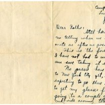 Image of 074_1982.202.1_charles Stevenson To Family_june 2, 1918_page 01