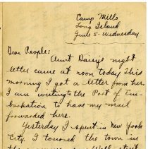 Image of 075_1982.202.1_charles Stevenson To Family_june 5, 1918_page 01