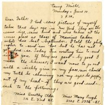 Image of 078_1982.202.1_charles Stevenson To Family_june 10, 1918_page 02