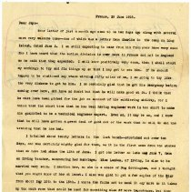 Image of 081_1982.202.1_maurice Stevenson To Jay Stevenson_june 26, 1918_page 01