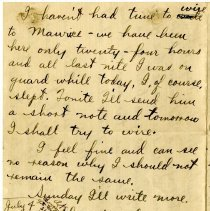 Image of 086_1982.202.1_charles Stevenson To Family_july 3, 1918_page 03