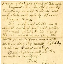 Image of 088_1982.202.1_charles Stevenson To Ogee (jay) Stevenson_july 9, 1918_page