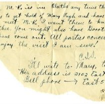 Image of 093_1982.202.1_charles Stevenson To Family_july 20, 1918_page 03