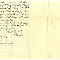 Image of 095_1982.202.1_charles Stevenson To Grandfather_july 22, 1918_page 02