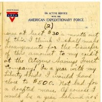 Image of 105_1982.202.1_charles Stevenson To Family_august 23, 1918_page 05