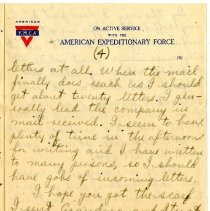 Image of 105_1982.202.1_charles Stevenson To Family_august 23, 1918_page 13